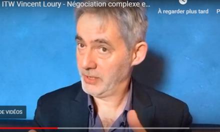 Nous avons surpris Vincent Loury dans son restaurant préféré…Il nous parle de la négociation complexe…